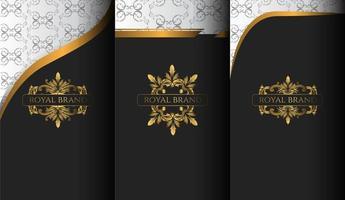 conjunto de capas de luxo