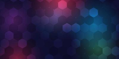 padrão hexagonal geométrico vetor
