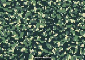 Vetor de padrão de camuflagem de multicam pixelado