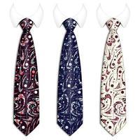 conjunto de gravatas masculinas coloridas