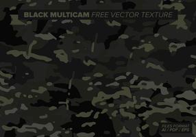 Textura de vetor livre multicam preto