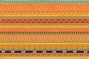 padrão étnico tribal vintage deco vetor