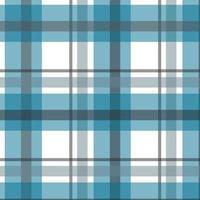 azul, cinza, branco xadrez padrão sem emenda vetor