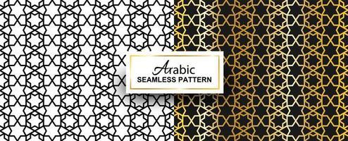 padrão sem emenda árabe abstrato vetor