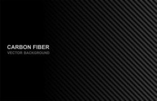 fundo abstrato fibra de carbono preto vetor