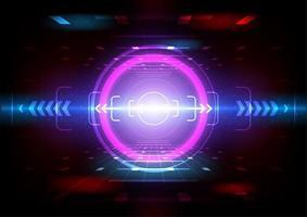 visão da câmera no jogo de simulação vetor