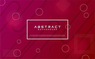 design de forma geométrica gradiente roxo rosa