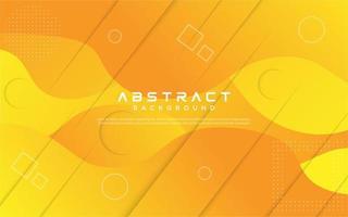 design abstrato fluido gradiente amarelo