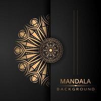 design de mandala ornamental de luxo vetor
