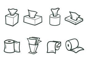 Vetores de papel de tecido gratuitos
