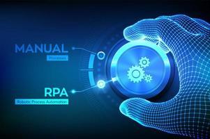 automação robótica de processos