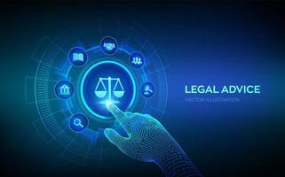 advogado vetor
