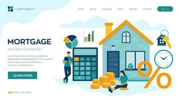 empréstimo à habitação ou investimento em dinheiro para imóveis