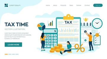 análise financeira pesquisa financeira vetor