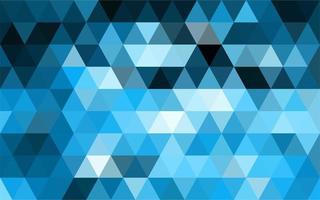 fundo de mosaico azul claro vetor