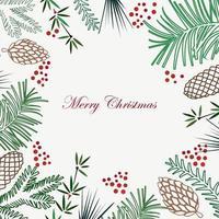 fundo de férias de Natal e ano novo vetor
