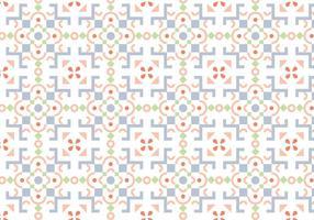 Padrão de mosaico em Pastel vetor