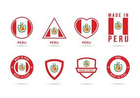 Ícones gratuitos do logotipo de Peru vetor