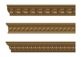 cornijas clássicas para paredes de edifícios