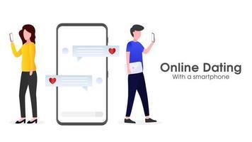 aplicação móvel para namoro online