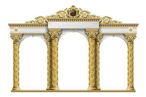 arco clássico de luxo antigo