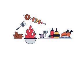 Vector Barbecue Gratuito