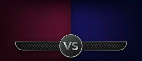 luta de boxe versus modelo vetor