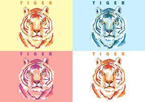Tigre colorido