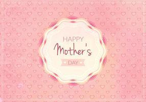 Vector livre feliz ilustração do dia das mães