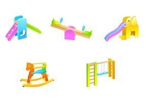 Pacote de vetores de brinquedos ao ar livre