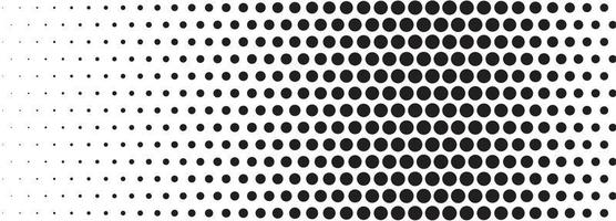 fundo de banner abstrato preto meio-tom vetor