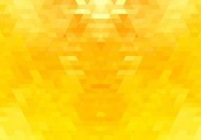 fundo de formas abstratas triângulo amarelo vetor
