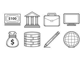 Vector de ícones grátis do Bussines