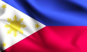 bandeira 3d das filipinas