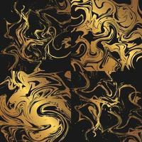 texturas de mármore ouro vetor