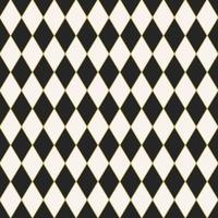 design de padrão de arlequim em azulejo sem emenda vetor