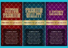 Panfletos Premium de luxo personalizados