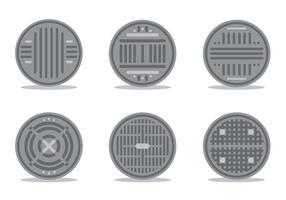 Conjunto de vetores de manhole