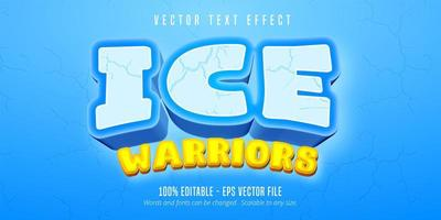 texto de guerreiros de gelo