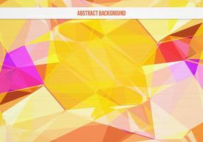 Fundo geométrico colorido colorido do vetor livre