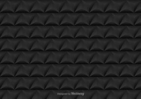 Vector padrão sem costura com triângulos pretos