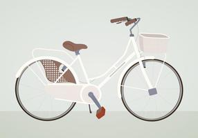 Ilustração da bicicleta do vetor