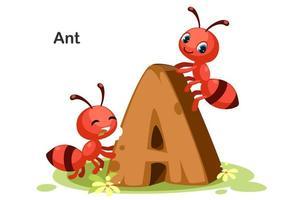 um para formiga vetor