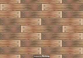 Padrão sem emenda do vetor das pranchas de madeira