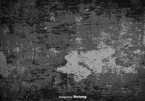 Fundo de vetor de superfície cinza sujo e antigo