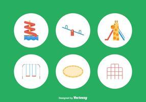 Ícones de vetores de playground gratuitos