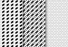 Vector grátis de padrões geométricos