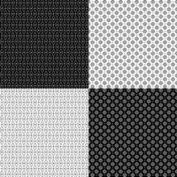 padrões geométricos vintage vetor