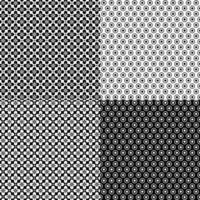 padrões geométricos retrô sem costura vetor