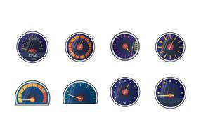 Vector tacômetro grátis